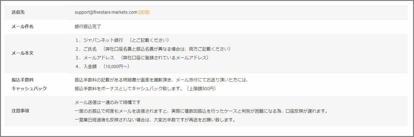 「銀行振込 ジャパンネット銀行」