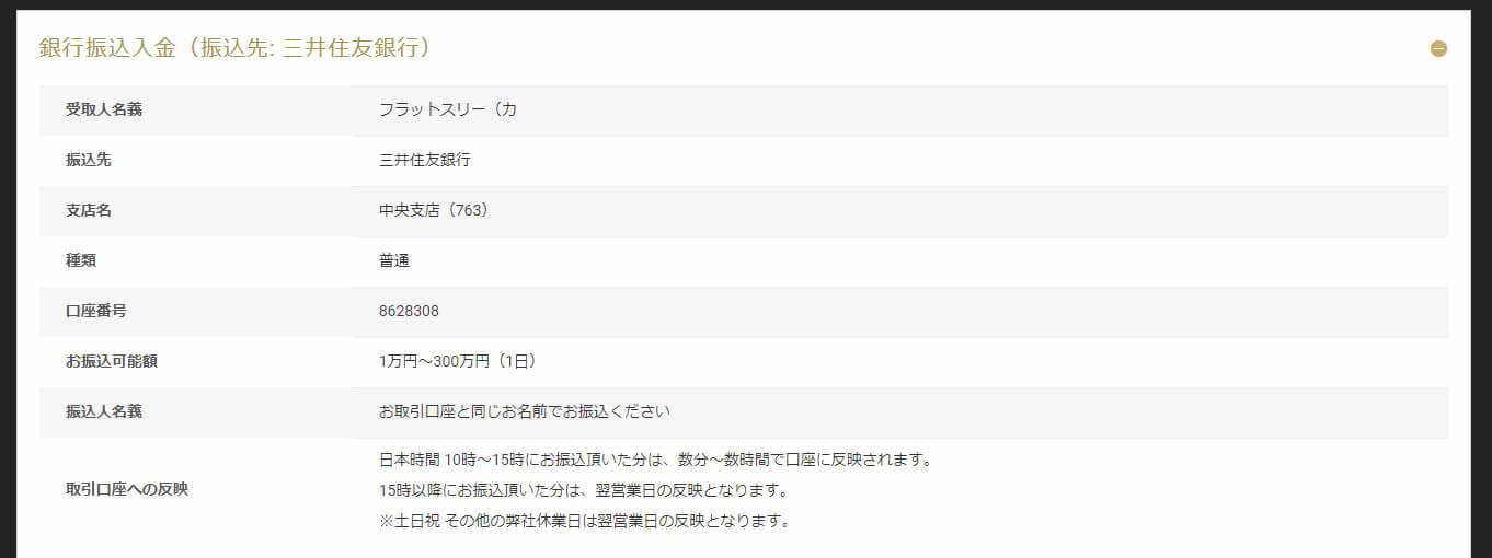 三井住友銀行の振込手順(その1)