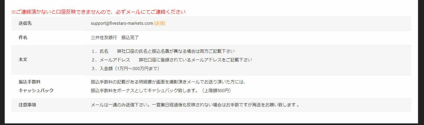 三井住友銀行の振込手順(その2)
